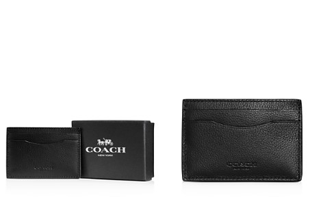 COACH Boxed Leather Card Case - Bloomingdale's_2