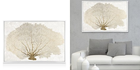Oliver Gal Gold Coral Fan Wall Art - Bloomingdale's_2