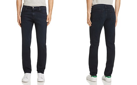 FRAME L'homme Straight Fit Jeans in Placid - Bloomingdale's_2