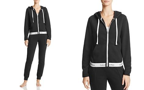 Calvin Klein Modern Cotton Full Zip Hoodie & Jogger Pants - Bloomingdale's_2