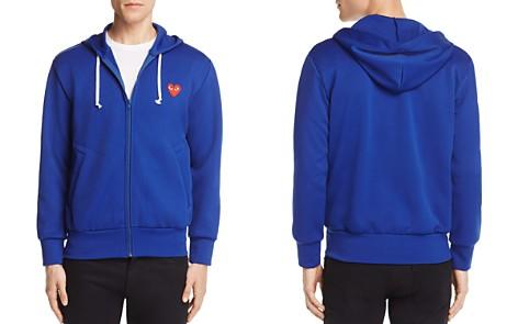 Comme Des Garçons PLAY Zip-Front Heart Logo Hoodie Sweatshirt - Bloomingdale's_2