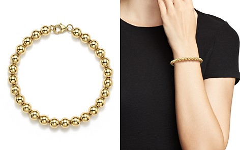 14K Yellow Gold Beaded Bracelet - 100% Exclusive - Bloomingdale's_2