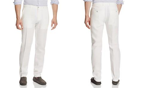 BOSS Crigan Linen Straight Fit Pants - Bloomingdale's_2