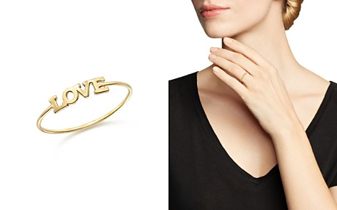 Zoë Chicco 14K Yellow Gold Itty Bitty Love Ring - Bloomingdale's_2