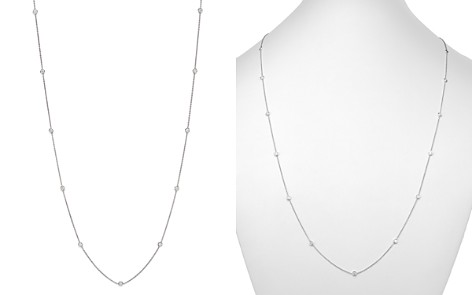 Diamond Station Necklace in 14K White Gold, 1.50 ct. t.w. - 100% Exclusive - Bloomingdale's_2