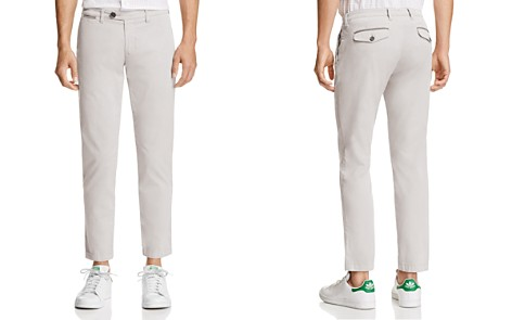 Eleventy Cropped Regular Fit Chino Pants - Bloomingdale's_2