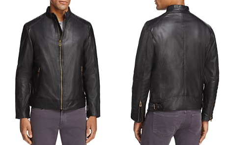 Cole Haan Leather Moto Jacket - Bloomingdale's_2