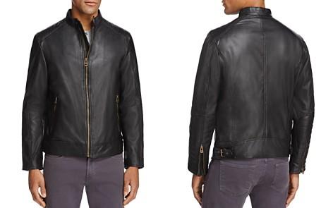 Cole Haan Leather Moto Jacket - Bloomingdale's_2