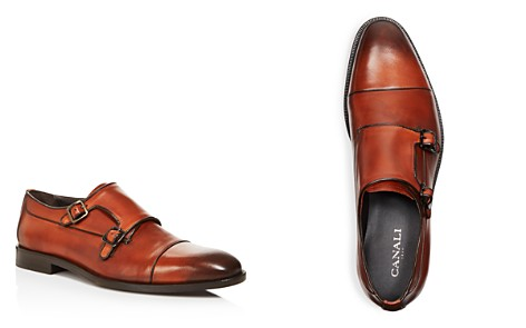 Canali Stock Double Monkstrap Loafers - Bloomingdale's_2
