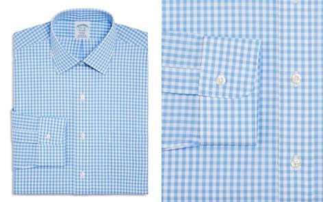 Brooks Brothers Gingham Check Regular Fit Dress Shirt - Bloomingdale's_2