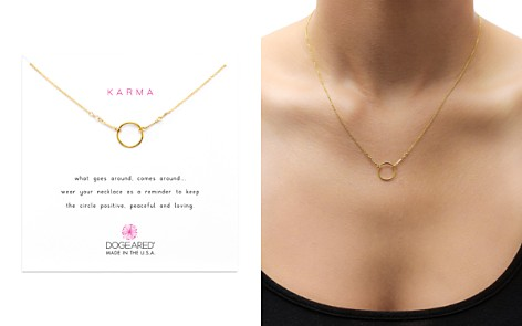 "Dogeared Karma Necklace, 16"" - Bloomingdale's_2"
