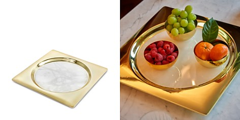 ANNA new york by RabLabs Circulo Tray, Gold - Bloomingdale's_2