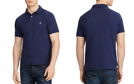 Polo Ralph Lauren Cotton Mesh Custom Slim Fit Polo Shirt - Bloomingdale's_2
