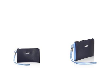 Longchamp Roseau Flat Leather Cosmetics Case - Bloomingdale's_2