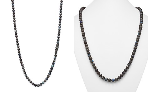 """Armenta Old World Midnight Labradorite Bead Necklace with Carved Tahitian Pearl and Black Sapphire, 39"""" - Bloomingdale's_2"""