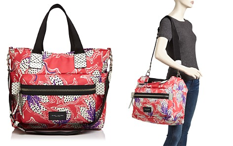MARC JACOBS Biker Spotted Lily Printed Diaper Bag - Bloomingdale's_2