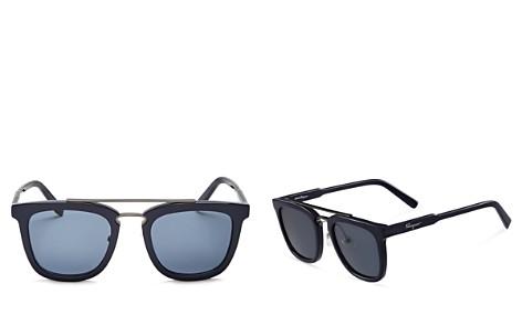 Salvatore Ferragamo Men's Square Sunglasses, 52mm - Bloomingdale's_2