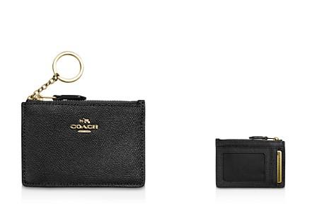 COACH Mini Skinny ID Case in Crossgrain Leather - Bloomingdale's_2