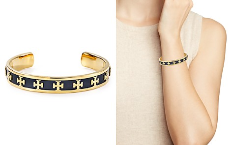 Tory Burch Raised Logo Cuff - Bloomingdale's_2