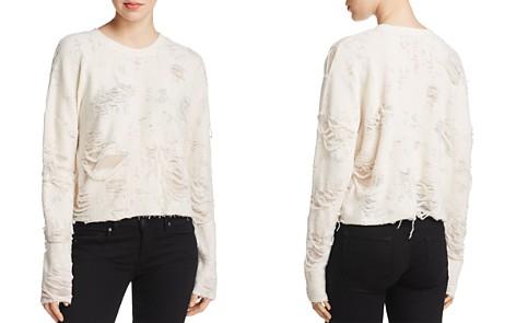 IRO.JEANS Cenix Distressed Sweatshirt - Bloomingdale's_2