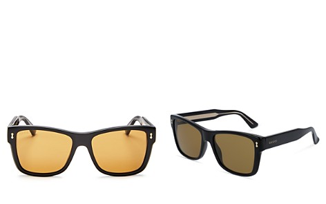 Gucci Men's Square Sunglasses, 55mm - Bloomingdale's_2