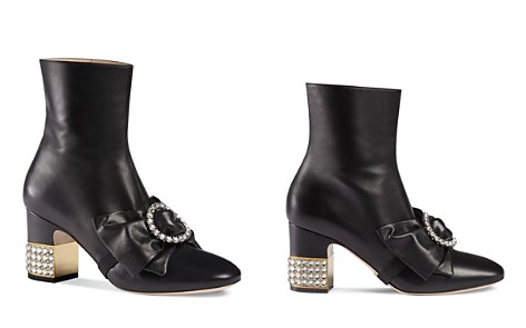 Gucci Candy Bow Booties - Bloomingdale's_2