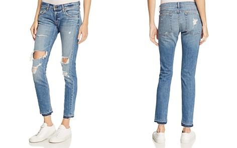 rag & bone/JEAN The Dre Slim Boyfriend Crop Jeans in Kennedy - 100% Exclusive - Bloomingdale's_2