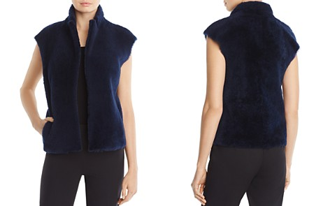 Whistles Meri Shearling Vest - 100% Exclusive - Bloomingdale's_2