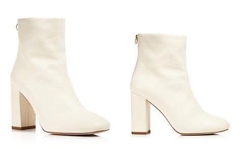 Joie Saleema Leather Block Heel Booties - Bloomingdale's_2