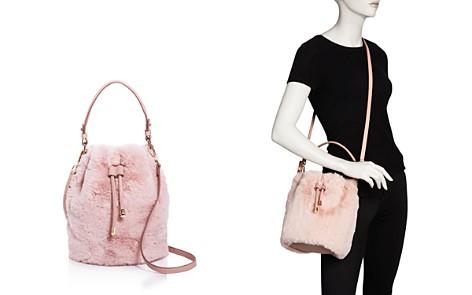Street Level Faux-Fur Bucket Bag - 100% Exclusive - Bloomingdale's_2