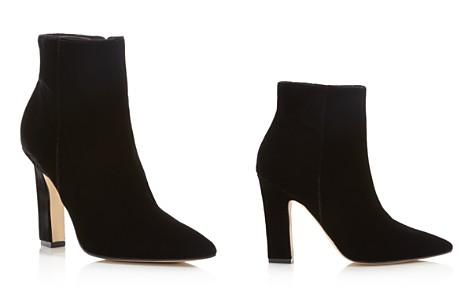 Marc Fisher LTD. Mayae Velvet Pointed Toe High Heel Booties - 100% Exclusive - Bloomingdale's_2
