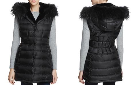 Dawn Levy Brittany Traveler Fur Trim Down Vest - 100% Exclusive - Bloomingdale's_2