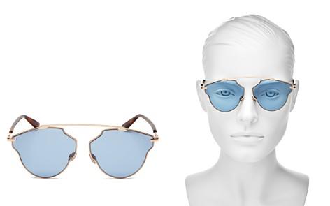 Dior Women's So Real Pop Brow Bar Geometric Sunglasses, 58mm - Bloomingdale's_2