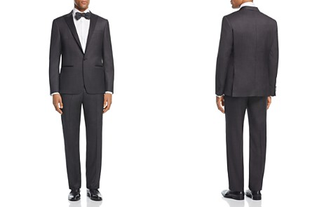 John Varvatos Star USA LUXE Square Textured Regular Fit Tuxedo - Bloomingdale's_2