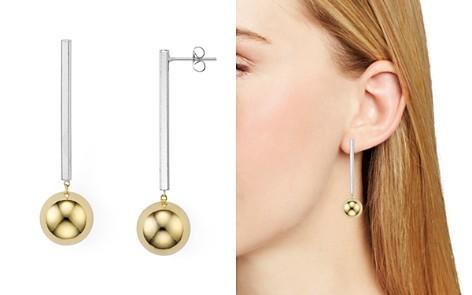 Argento Vivo Two-Tone Linear Earrings - Bloomingdale's_2