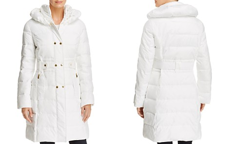 Via Spiga Contrast Placket Puffer Coat - Bloomingdale's_2