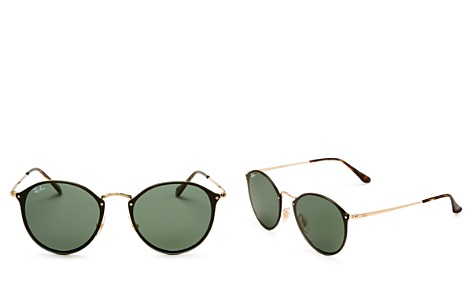 Ray-Ban Blaze Round Sunglasses, 59mm - Bloomingdale's_2