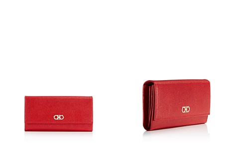 Salvatore Ferragamo Gancini Leather Continental Wallet - Bloomingdale's_2