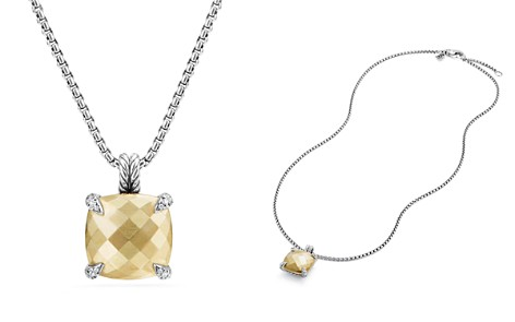 David Yurman Châtelaine Pendant Necklace with 18K Gold and Diamonds - Bloomingdale's_2