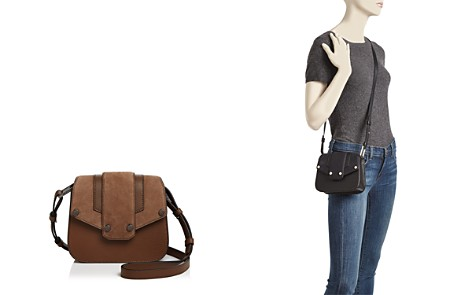 Mackage Poly Mini Nubuck and Leather Crossbody - Bloomingdale's_2