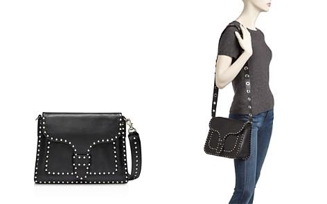 Rebecca Minkoff Midnighter Slim Leather Shoulder Bag - Bloomingdale's_2