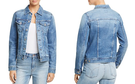 AG Led Denim Jacket in 10 Years Magnetic Blue - Bloomingdale's_2