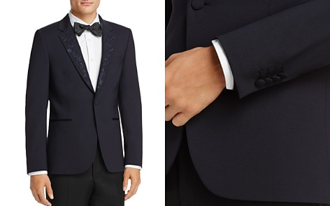 Paul Smith Embroidered Lapel Slim Fit Tuxedo Jacket - Bloomingdale's_2