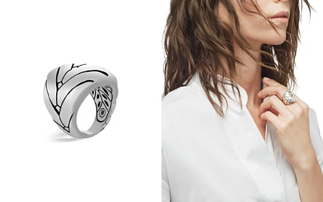 John Hardy Sterling Silver Modern Chain Large Ring - Bloomingdale's_2
