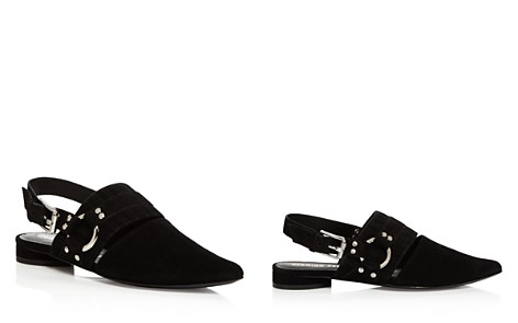 Opening Ceremony Alexx Suede Slingback Harness Flats - Bloomingdale's_2