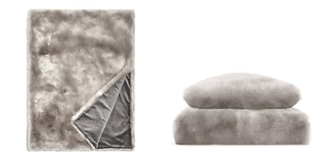 Hudson Park Jewel Faux Fur Throw - 100% Exclusive - Bloomingdale's_2