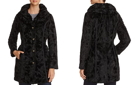 Laundry by Shelli Segal Reversible Faux Shearling & Puffer Coat - Bloomingdale's_2