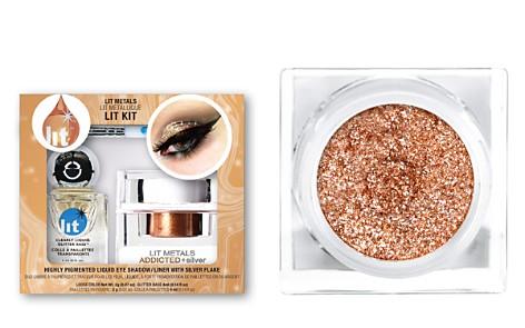 Lit Cosmetics Lit Metals Metallic Pigment Lit Kit - Bloomingdale's_2