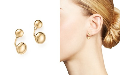 14K Yellow Gold Ball Ear Jackets - 100% Exclusive - Bloomingdale's_2