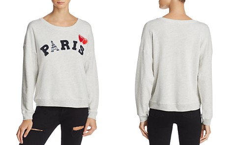 Rails Kelli Paris Appliqué Sweatshirt - Bloomingdale's_2